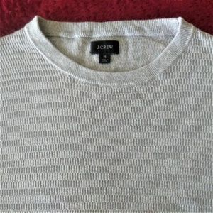 J. Crew Shirts - J. Crew Waffle Knit Long Sleeve T-shirt Size M